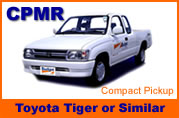 Toyota Hilux Vigo Tiger Extracab or similar pickups for rentals in Huahin