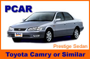 Toyota Camry cars for Rent in Thailand